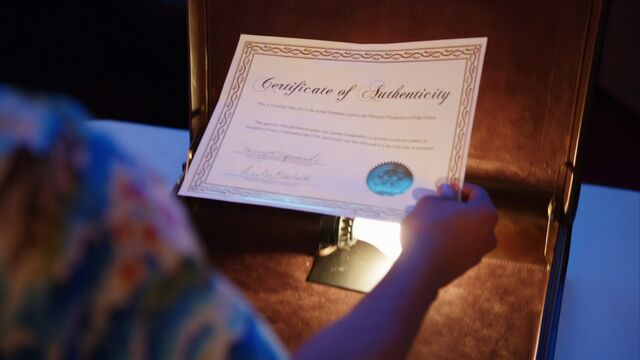 File:Certificate of authenticity.jpg