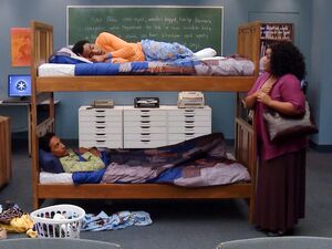 Troy and Abed's new bedroom