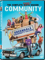 Community Season Six DVD front cover