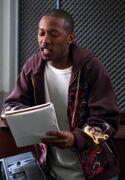 MC rapping