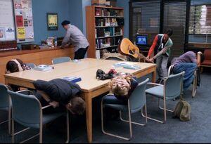 Abed critiques Pierce's performance