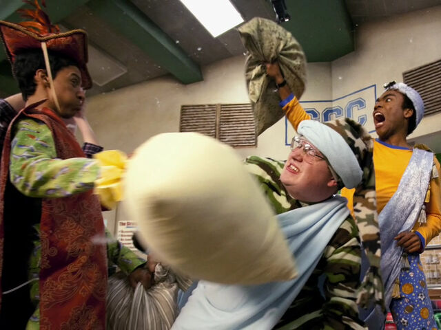 File:3x14-Abed Garrett Troy pillow fight.jpg