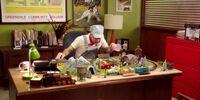 Dean Pelton's office