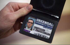 Garrity ID card