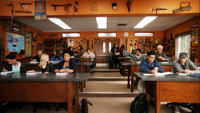 Anthropology classroom
