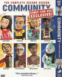 Comic con exclusive dvd cover