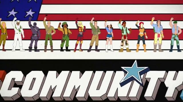Community GI Joe Opening Title Sequence