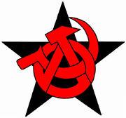 641px-Anarchist-Communist Symbol