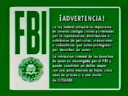 1990s FBI Warning 1 (Spanish)