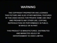 Entertainment in Video Warning (2003) (S2)