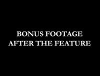 Bonus Footage After the Feature Disney 2001 Bumper
