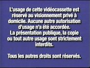 2000 FBI Warning (Canadian French)