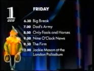 BBC1 xmas 1996 continuity