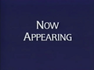 Now Appearing