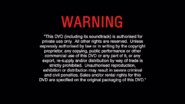 BUENA VISTA HOME ENTERTAINMENT 2005 DVD WARNING SCREEN