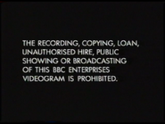 BBC Video Warning Screen (1991)