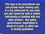 2000 FBI Warning (Promotional)