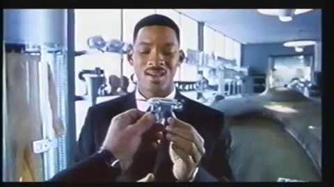 Opening to Men in Black II UK VHS (2002)