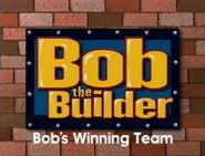Bob the Builder Bob's Winning Team