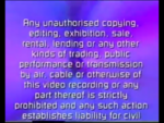 Paramount Home Entertainment 2000 Warning Scroll (S3)