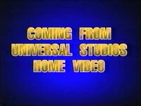 Coming from Universal Studios Home Video (1997)