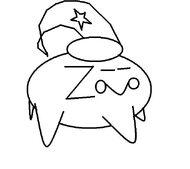 Zeezee coloring page