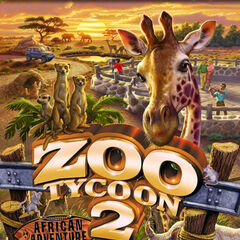 African Adventure game cover.
