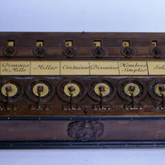 <b>1643-</b>Blaise Pascal invents the Pascaline