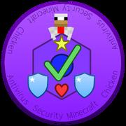 Antivirus Security Minecraft Chicken