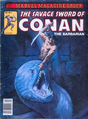 Savage Sword of Conan Vol 1 61