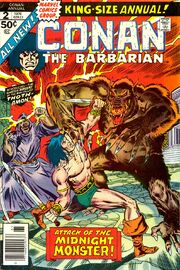 Conan the Barbarian Annual Vol 1 2