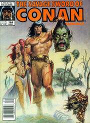 Savage Sword of Conan Vol 1 164