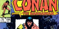 Conan the Barbarian 184