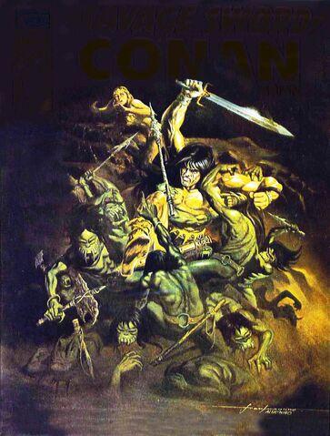 File:-6 agosto 1975. The Sleeper debajo de las arenas. Guión de Roy Thomas, el arte de Sonny Trinidad. Esta es una secuela de última edición de Una bruja ha de nacer..jpg