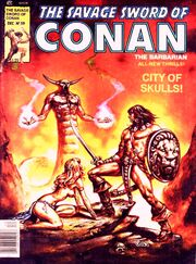 Issue -59 The City of Skulls Dec. 1, 1980------
