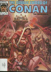 Savage Sword of Conan Vol 1 122