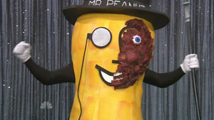 The University of Georgia Two-Face Mr. Peanut