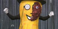 "The University of Georgia ""Two-Face Mr. Peanut"""