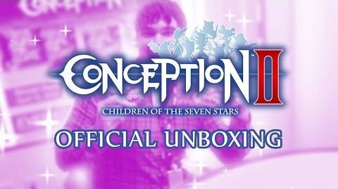 Unboxing Conception II Children of the Seven Stars