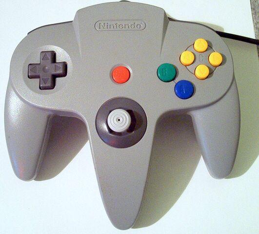 File:N64 Controller W.jpg