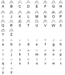 Dragonian alphabet-0
