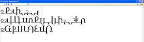 字型創造過程