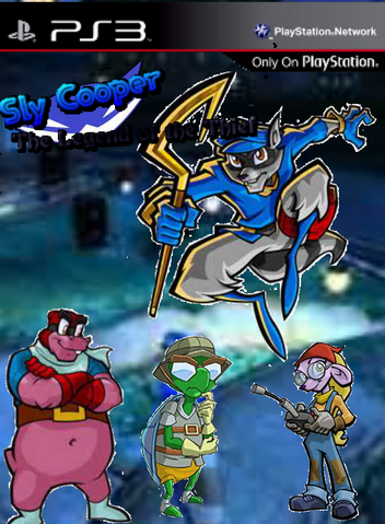File:Sly Cooper The Legend of The Thief Boxart.png