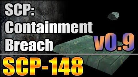 SCP-148 (New!) - SCP Containment Breach v0