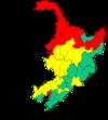 Manchurian election map 2013