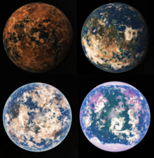 Capital planets of the United Federation of Artemis