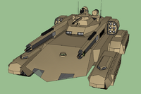 M1A3 Fortis MBT