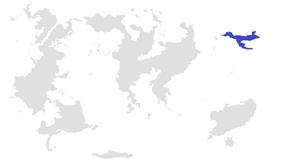 Pangam-Pangat Blank Map Noraem Blue