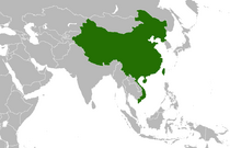 Location of the United Chinese Confederacy