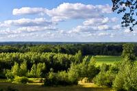 Uitzicht vanaf de koepel op de Tankenberg